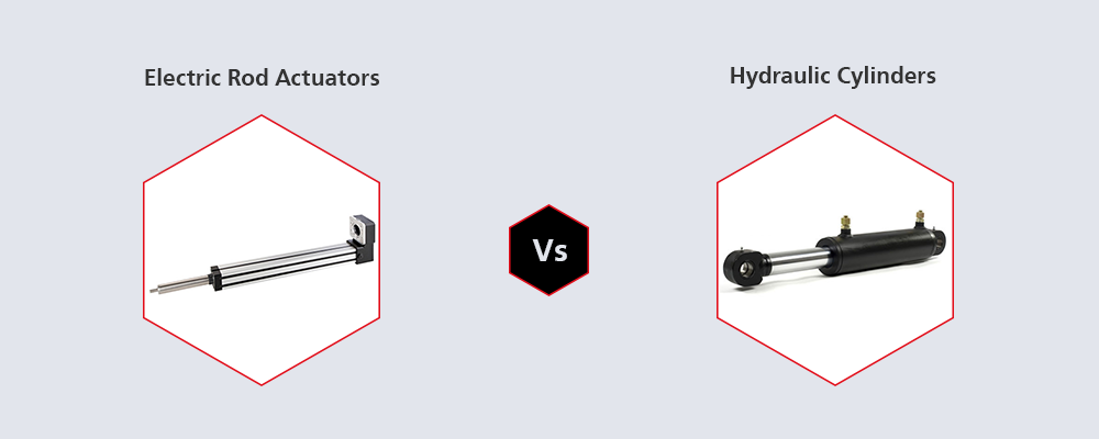 Electric Rod Actuators Vs Hydraulic Cylinders